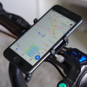 Smartphone Mount for Electric Scooter and BIke